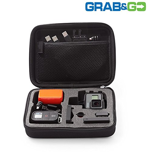 Universal GoPro Case – Protect Your Action Camera – Carry the Essentials Everywhere You Go – Fits All GoPro & Similar Action Cams – Never Lose Your Camera & Accessories Again Action Camera Accessories eXuby
