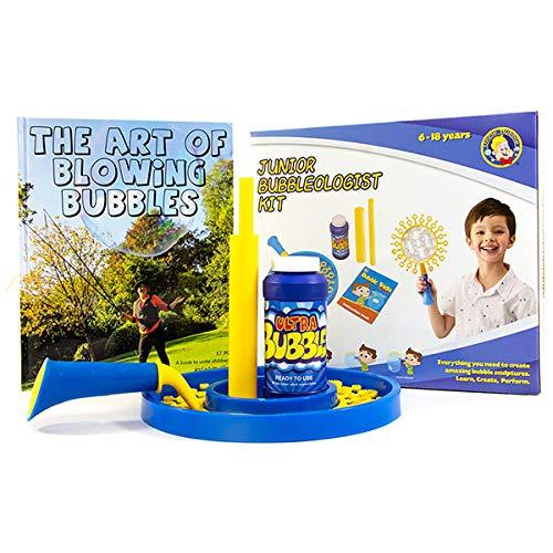 aprende la Ciencia Trucos y espect/áculo Incluye Libro de Burbujas Uncle Bubble BUB-103BK Kit de Rendimiento Junior