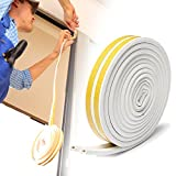 Door Stripping – Rantizon Indoor Weather Stripping, Anti-collision Self Adhesive Rubber Foam Door Weather Stripping, Insulation Soundproof Window Seal Strip, Reduce Sound, Prevent Noise and Vibration