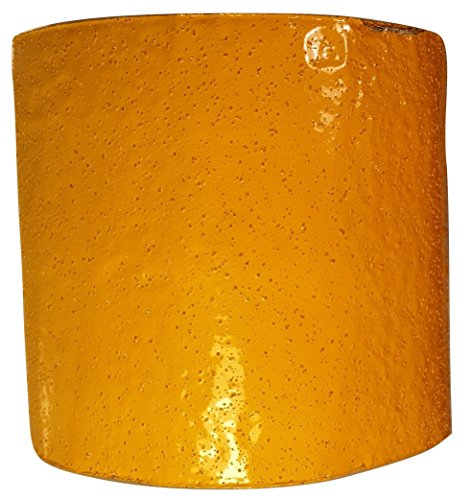 ifloortape Yellow Reflective Foil Pavement Marking Tape Conforms to Asphalt Concrete Surface 4 Inch x 50 Foot Roll