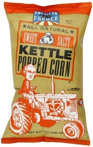 American Farmer Sweet and Salty Kettle Popped Corn, 7 Oun...