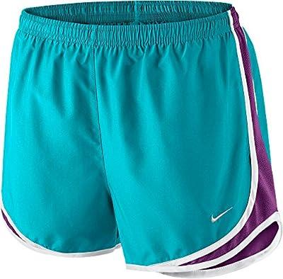 Nike Printed Tempo Running Shorts (Omega Blue/Cosmic Purple, X-Small)