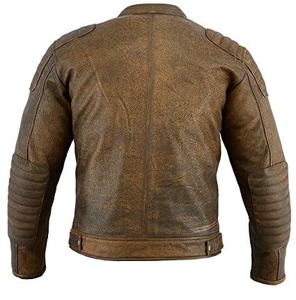 Lovely Naked Leather Waistcoat Motorbike Biker Mens Motorcycle Vest Laced Texpeed Coats & Jackets