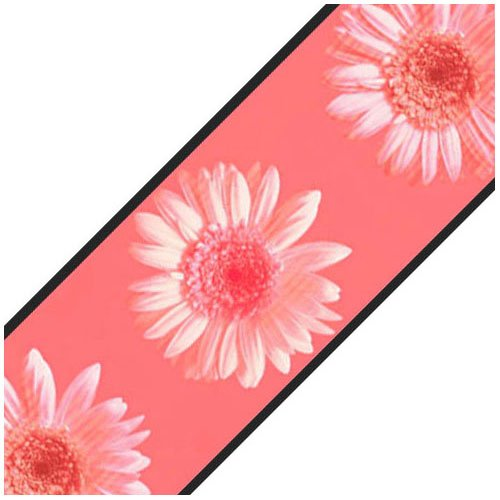 Sure Strip Pink Daisy Flowers Prepasted Wallpaper Border Roll ()