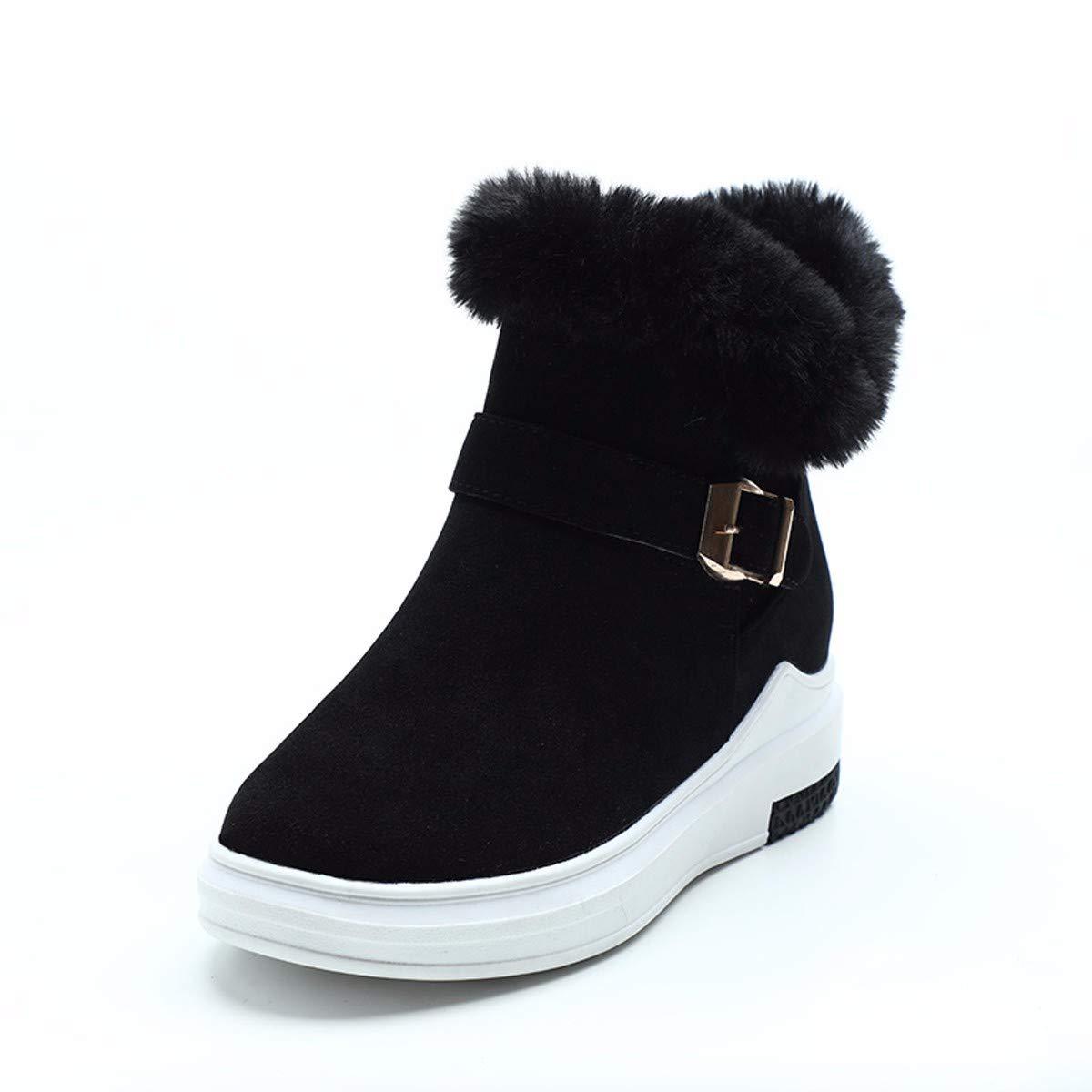 KPHY Damenschuhe Stiefeln Winter Wild Studenten Kurz Aus SAMT Dünn Dünn Gepolsterte Schuhe Stiefel.