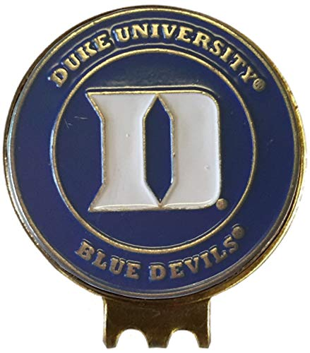 Duke Blue Devils Hat Clip - Duke Blue Devils Golf Ball Marker HAT Clip Great Gift IDEA Acc DOOKIES