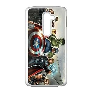 LG G2 Cell Phone Case White Avengers Jdke
