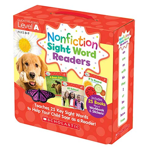 (Nonfiction Sight Word Readers Parent Pack Level A: Teaches 25 key Sight Words to Help Your Child Soar as a Reader!)