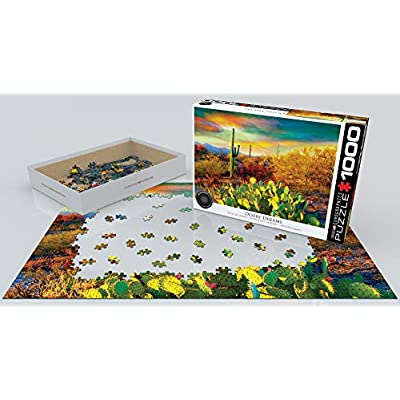 EuroGraphics Desert Colors Jigsaw Puzzle (1000-Piece): Toys & Games