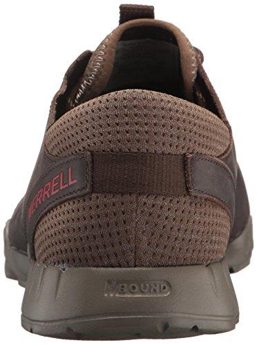 Merrell Versent Kavari Lace Leather Scarpe da Uomo Casual Sneakers Trainers, Brindle J93865