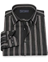 "<span class=""a-offscreen"">[Sponsored]</span>Men's Cotton Stripe Sport Shirt"