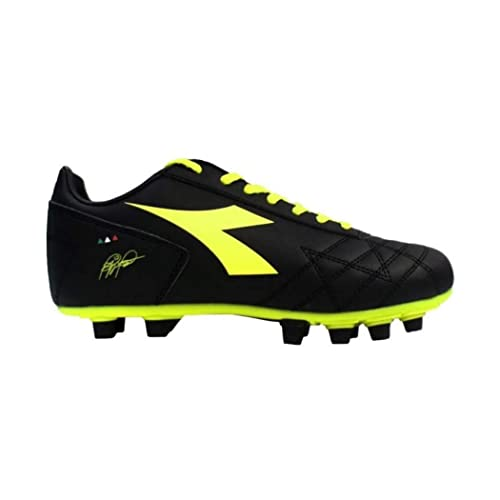 Diadora Botas de Fútbol de Material Sintético Para Hombre Negro Negro Negro  Size  40  Amazon.es  Zapatos y complementos 61a23ba0cd3fe