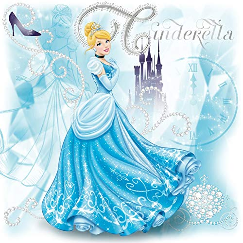 (Disney Cinderella Iron On Transfer for T-Shirts & Other Light Color Fabrics #1)