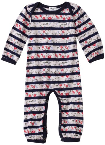 Splendid Littles Baby Girls' Floral Yacht Stripe Bodysuit