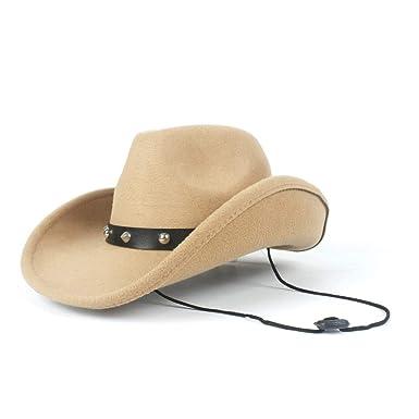 GHC gorras y sombreros Mujeres Hombres Lana Hueco Sombrero de Papá ...