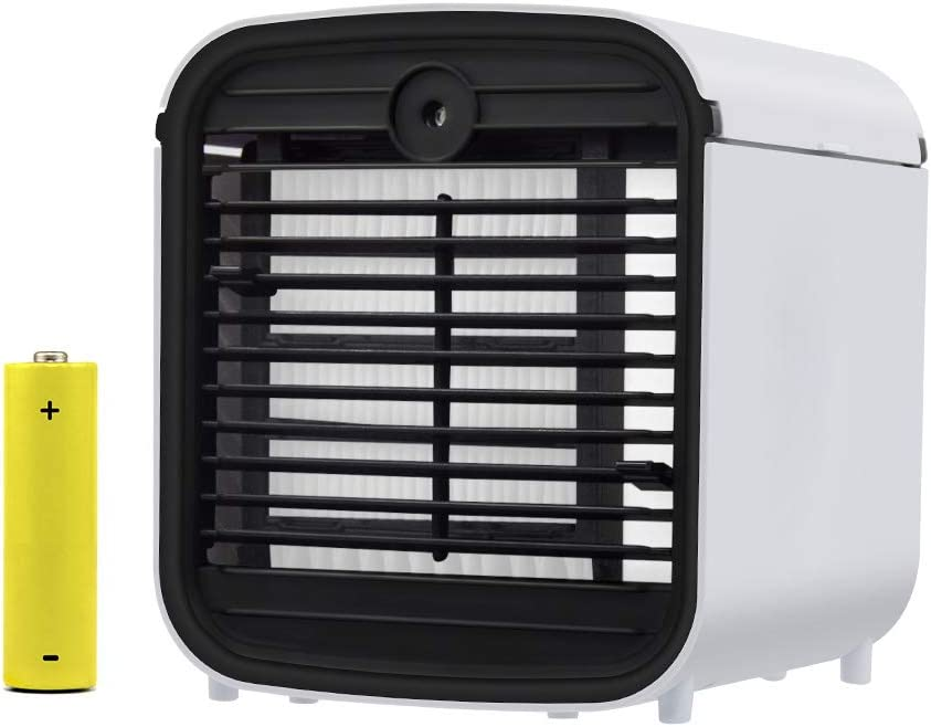 Portatil Climatizador Evaporativo,USB Aire Acondicionado,4 en 1 ...