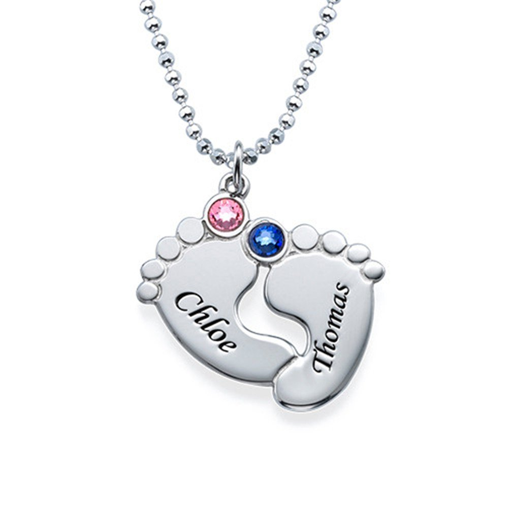 zgshnfgk Custom necklace name personalized necklace for women