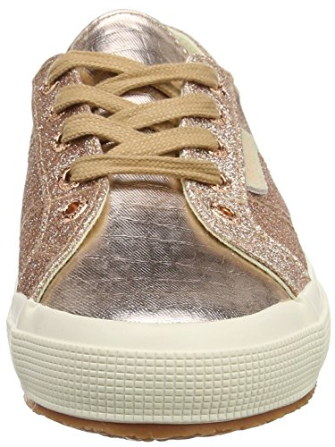 Femme Microglittercotmetcoccow Gold Orange 2750 Rose Baskets Multicolore Superga Doré 916 1qvt5nx