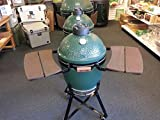 Wooden Shelves EGG Mate for Medium - Big Green Egg - EGG (2 shelves) Official Big Green Egg Grill & Smoker Accessories Are A Must For Big Green Egg Users.