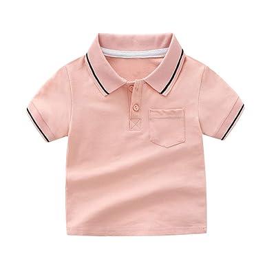 Amuse-MIUMIU - Camiseta Polo de Manga Corta para bebé: Amazon.es ...