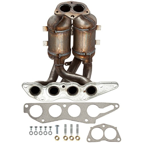 ATP Automotive Graywerks 101386 Exhaust Manifold/Catalytic Converter (Exhaust Manifold Mitsubishi Galant)