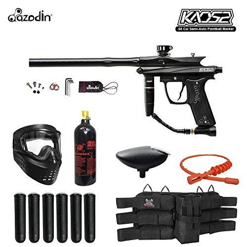 MAddog Azodin KAOS 2 Titanium Paintball Gun Package - Black ()
