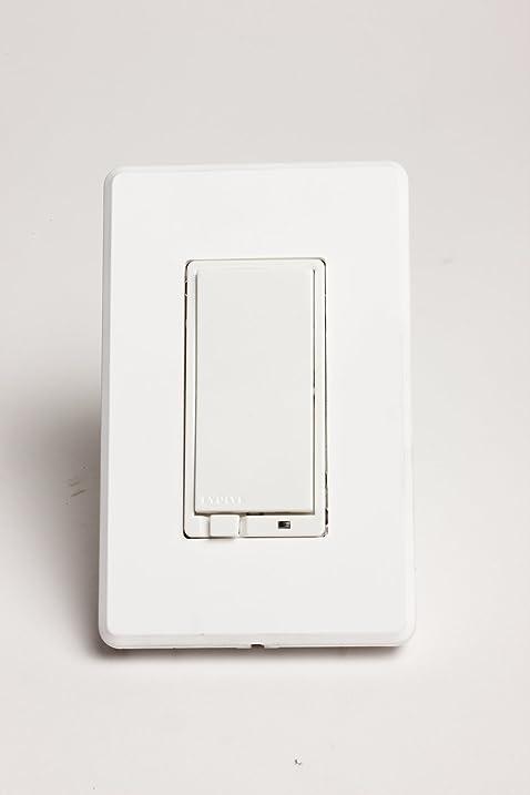 evolve lrmas zwave lighting control dimmer switch white