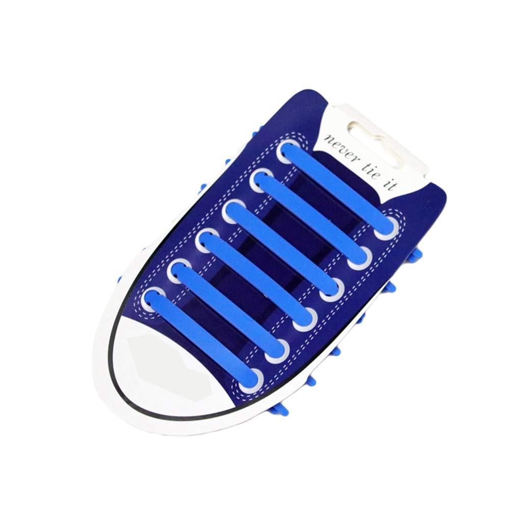 Kootk Silicone Lacci per Scarpe Elastici Adulti Shoelaces b4726098cfb