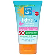 Kiss My Face Baby's First Kiss Sunscreen Lotion SPF 50 4 oz (Pack of 2)