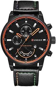 Curren Men's Analog Leather Watch 8217