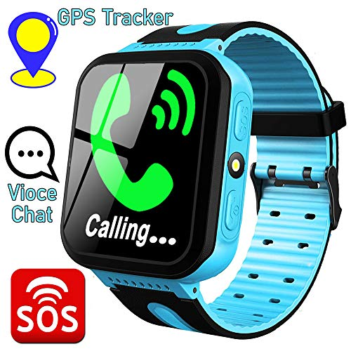 Kids Smart Watch Phone with GPS Tracker Two-Way Call SOS for Age 3-12 Girls Boys Toddler 1.44