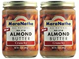 MaraNatha No Stir Crunchy Almond Butter (Pack of 2)