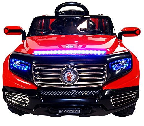 Electric Toy Cars For Boys : Two seater door premium ride on electric toy car for