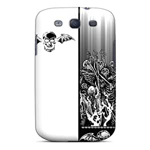 Excellent Hard Cell-phone Cases For Samsung Galaxy S3 With Unique Design Nice Avenged Sevenfold Skin LisaSwinburnson