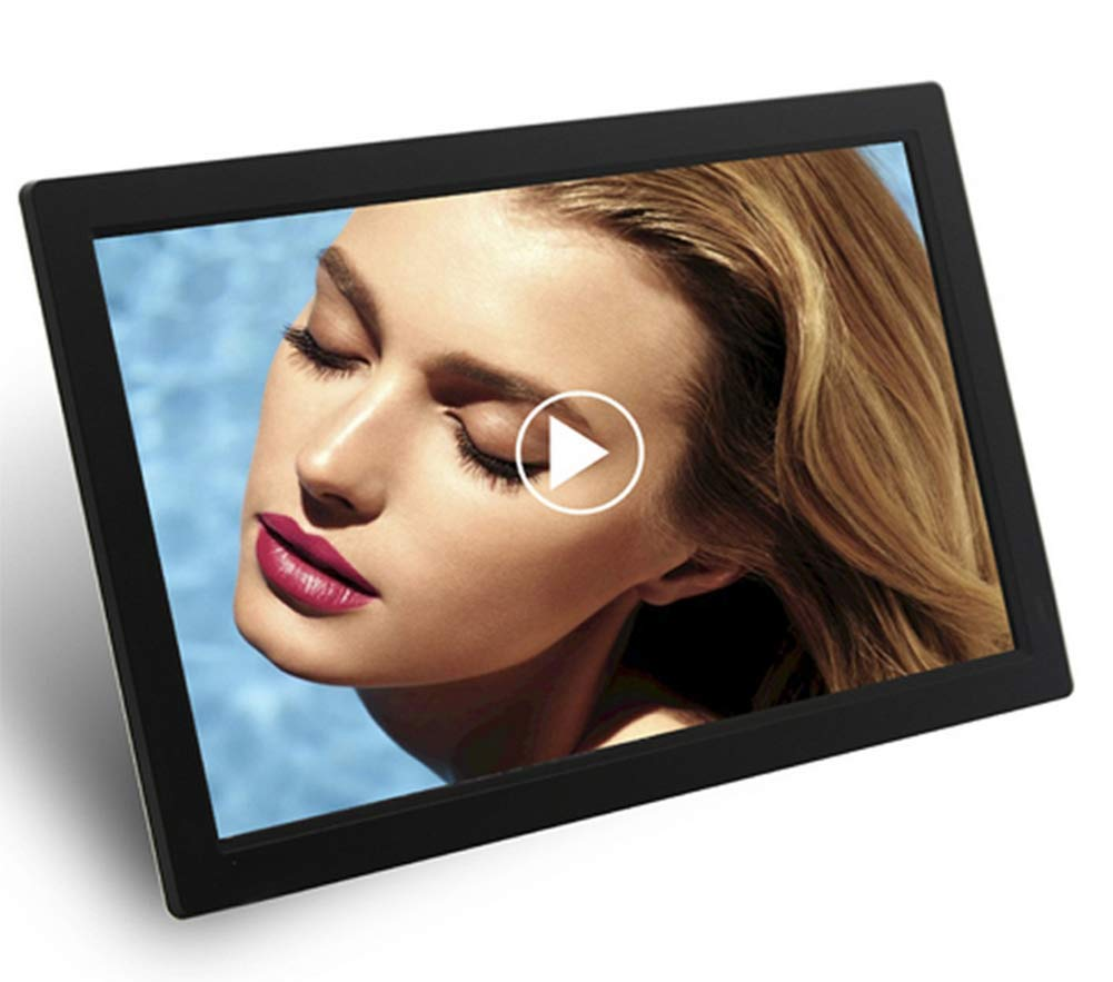 23.5 Inch Digital Photo Frame Full HD 1080P Supported Picture Music Video Player Ultra-Thin Advertising Machine with Motion Sensor, 19201080 High Resolution,Remote Control