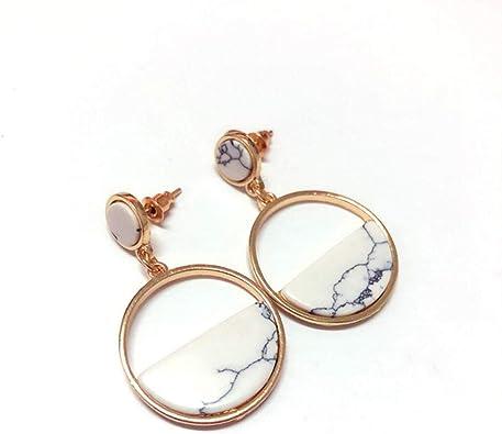Mode élégante Femmes Lady cercle cristal Strass Ear Stud Boucles d/'oreilles Bijoux