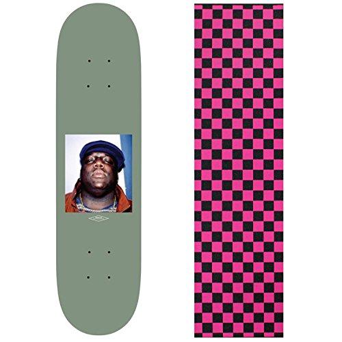 抗議スタイルそれからプリミティブスケートボードデッキBiggie Notorious b.i.g 8.125