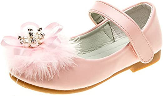 Toddler Kids Girls Flats Shoes Princess Baby Children Party Dance Wedding Shoes
