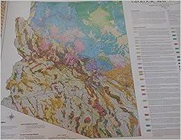 Geologic Map Of Arizona.Geologic Map Of Arizona 39 X27 S J Reynolds J E Spencer And