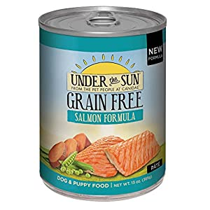 Canidae Under The Sun Grain Free Dog Wet Food Salmon Formula, 13 Oz (12-Pack) Click on image for further info.