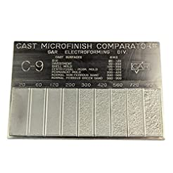 Gar Surface Roughness Scale C-9 Cast Mic...