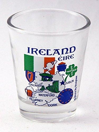 Ireland EU Series Landmarks and Icons Shot Glass