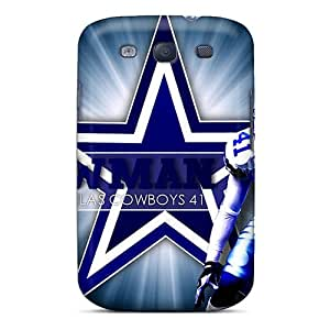Slim Fit Tpu Protector Shock Absorbent Bumper Dallas Cowboys Case For Galaxy S3