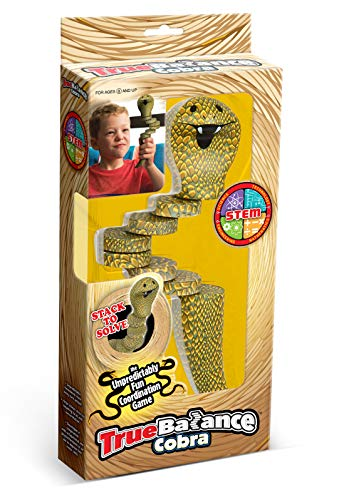 (TrueBalance Educational STEM Toy for Adults Boys and Girls (Cobra Version) | Coordination Game That Improves Fine Motor Skills | Perfect Autism Toy )