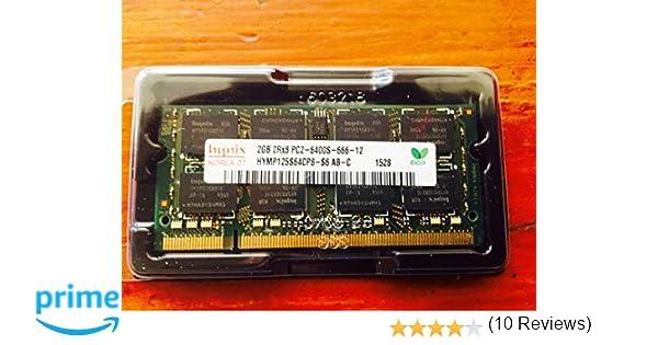 Hynix HYMP125S64CP8-S6 2GB 2Rx8 1.8V 200-Pin SODIMM PC2-6400S-666-12 800MHz DDR2 Laptop/Notebook Memory: Amazon.es: Informática