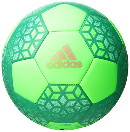 adidas Performance Ace Glider Soccer Ball, Solar Green/Core Green/Copper, Size 5