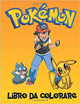 Pokemon Libro Da Colorare Un Grande Libro Da Colorare Sui