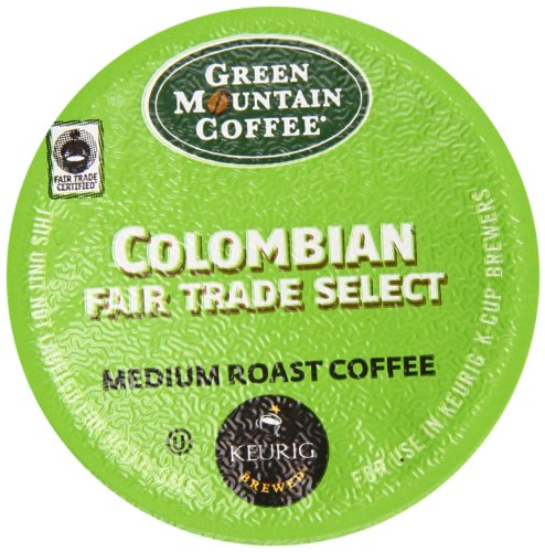 Green Mountain Coffee Excellent K-Cup, Columbian, 12-Count