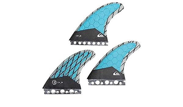 Quiksilver AG47 - Juego de Aletas para Tabla de Surf, diseño del océano Hawaiano, S: Amazon.es: Deportes y aire libre