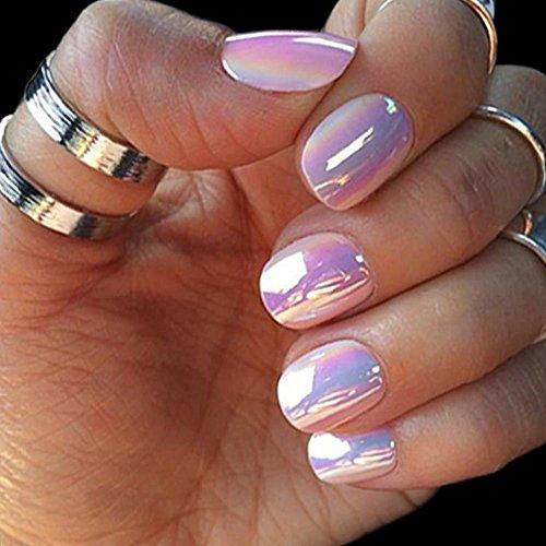 3 bottle nail glitter dust unicorn